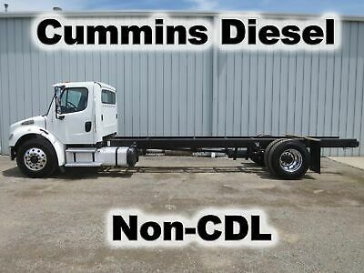 M2 106 Cummins Diesel Automatic  Straight Frame Cab Chassis Non-Cdltruck