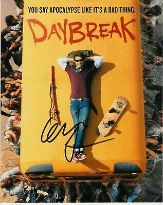 Colin Ford Signed Daybreak Photo Uacc Reg 242 (1)