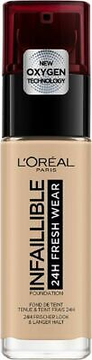 L'Oreal Foundation - Infaillible 125 Natural Rose 30 ml
