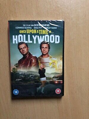 Once Upon A Time In Hollywood DVD  New And Sealed (2019)