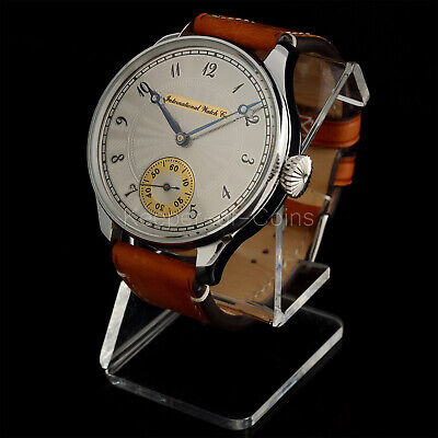 IWC INTERNATIONAL WATCH Co MEN'S BEST QUALITY 16 SIZE 15 JEWELS SWISS MOVEMENT