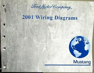 2001 Ford Dealer Electrical Wiring Diagram Service Manual Mustang