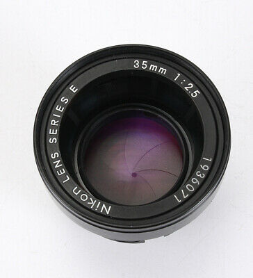 35Mm 35/2.5 Nikon Series E Lens Assembly Only (Haze, Debris), Issue/212883