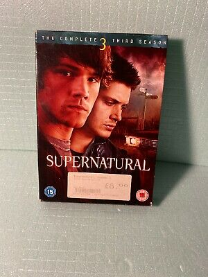 Supernatural - Series 3 - Complete (DVD, 2008, 5-Disc Set, Box Set)