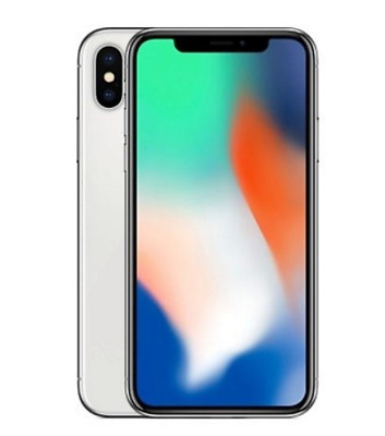 Apple iPhone X - 64GB AT&T Silver A1901