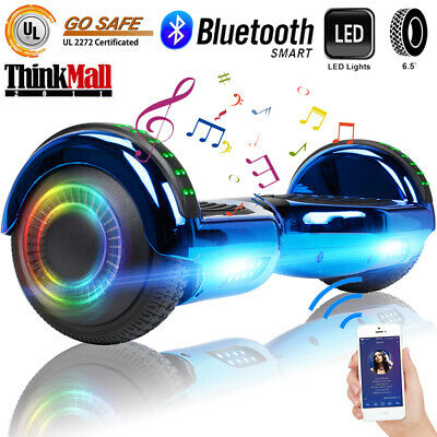 """6.5"""" Hoverboard With Bluetooth Self Balance Scooter LED Bag Birthday Best Gifts"""