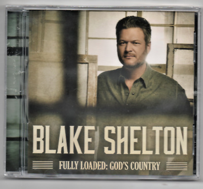 Blake Shelton Fully Loaded: God's Country 2019 CD Hell Right, Nobody But You