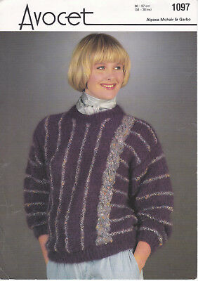 AVOCET Soirée Lurex ~ Ladies Designer Knittings Patterns ~ Various **FREE P/&P**