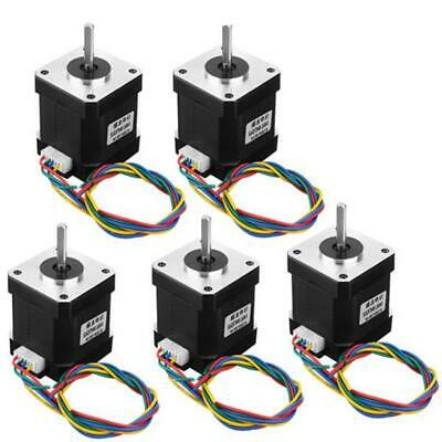 5pcs Nema 17 Stepper Motor 42mm 1.68A for CNC Router