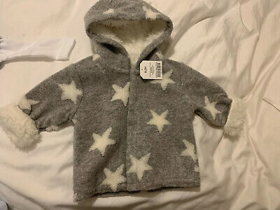 BRAND NEW WITH TAGS - NEXT baby boy 6-9 months Jacket