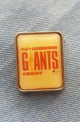 Nbl Giants Pin Badge