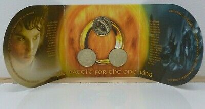 Lord of the Rings New Zealand 3-Coin BU $1 2003 Set The Battle for The One Ring
