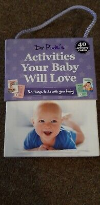 Dr Pixie's Activities Your Baby Will Love. 40 Activity cards Boxset