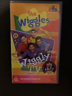 The Wiggles - Wiggly TV VHS VIDEO PAL~ RARE
