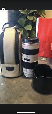Canon EF 70-200 mm f/2.8L IS III USM Camera Lens (3044C002) - White