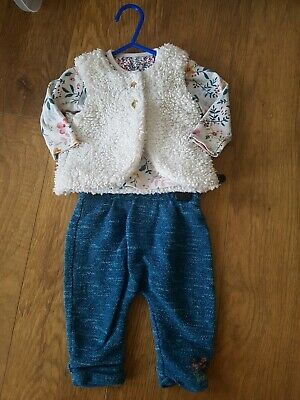 Mothercare Baby Girls Outfit Age 3-6 Months