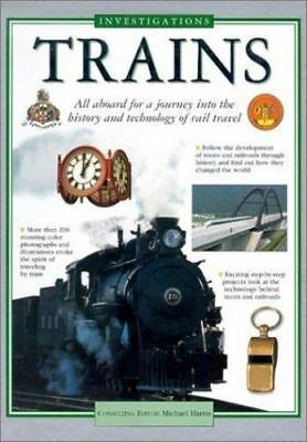 Trains (Investigations) Gaff, Jackie Hardcover Used - Very Good