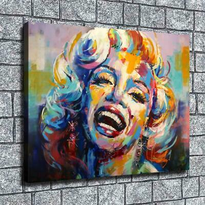 """12""""x16"""" Monroe Abstract Paintings HD Canvas prints Home Decor Wall art Posters"""