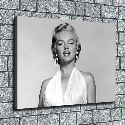 """12""""x16"""" Grey Marilyn Monroe Picture HD Canvas prints Home Decor Wall art Posters"""