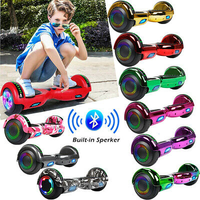 "6.5"" Electric Hoverboard Scooter Bluetooth LED UL2272 Balancing Carrying Bag"