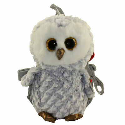 """Exclusive Ty 18/"""" Large Jumbo Owlette the Owl Stuffed Animal White//Gray NWMT"""