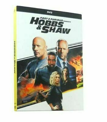 Fast And Furious Presents HOBBS & SHAW (DVD, 2019)