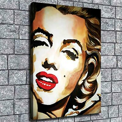 """12""""x16"""" Marilyn Monroe Head Picture HD Canvas prints Home Decor Wall art Posters"""