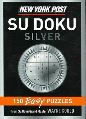 New York Post Sudoku Silver, Paperback by Gould, Wayne (COM), Brand New, Free...