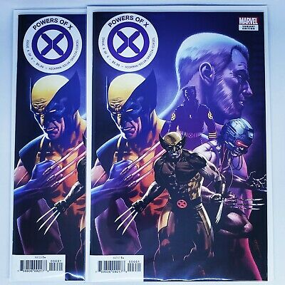 Powers of X (2019) Marvel - #6, CAFU Character Variant, Hickman/Silva, NM