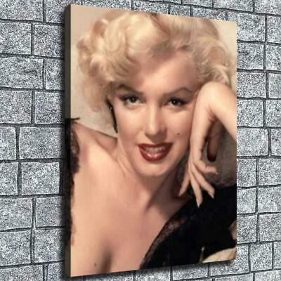 """12""""x16"""" Marilyn Dream Holder HD Canvas prints Home decor Room Wall art Pictures"""