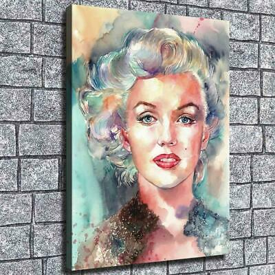 """12""""x16"""" Monroe Abstract Color HD Canvas prints Home decor Room Wall art Pictures"""