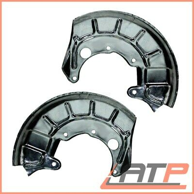 2X Cover Plate For Brake Disc Front Vw Jetta Mk 2 88-91 Vento