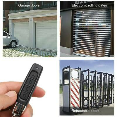 Universal Replacement Garage Door Car Gate Cloning Remote Control Key Fob:433MHZ