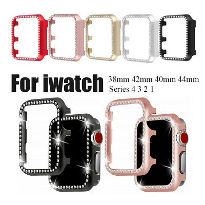Aluminum Alloy Frame Screen Saver Metal Shell For Apple Watch Series 4 3 2 1