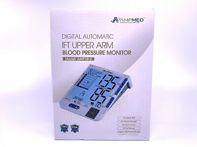 Automatic Digital LCD Upper Arm Blood Cuff Pulse Pressure Monitor Heart Meter US