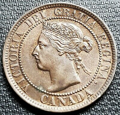 1901 Canada Large Cent Coin ***MS-60/62 Condition***