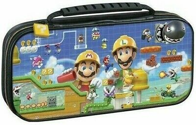 Nintendo Switch Case Officially Licensed Super Mario Maker Travel Case NEW