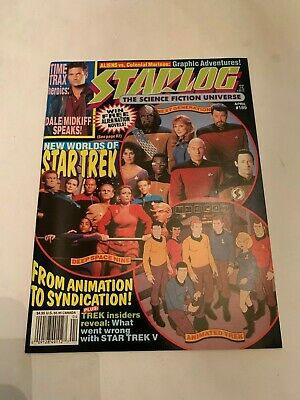 1993 Starlog Magazine Number 189 Star Trek Worlds Of Star Trek