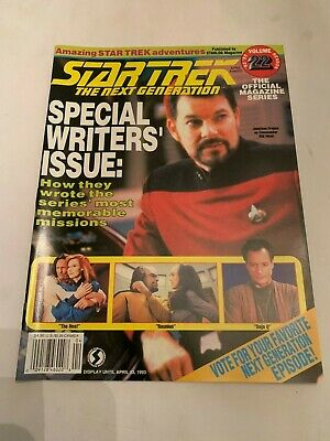 1993 Star Trek The Next Generation Magazine Volume 22
