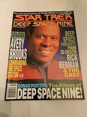 1993 Star Trek Deep Space Nine Magazine Volume 2