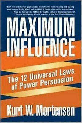 🔥Maximum Influence: The 12 Universal Laws of Power🔥 (P.D.F)✔️