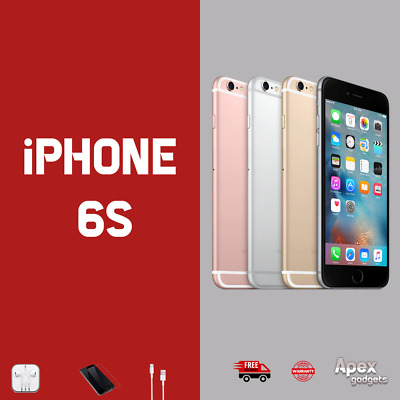Apple iPhone 6s 16GB 32GB 128GB SIM Free Unlocked  Smartphone/ fast post/gifts