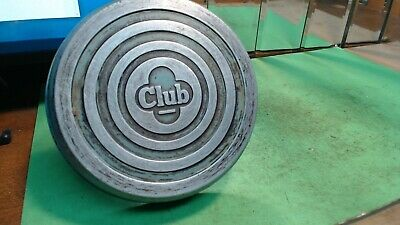 Vintage-Baby Blue-- CLUB Cast ALUMINUM `Small- SKILLET Frying PAN-- NO LID