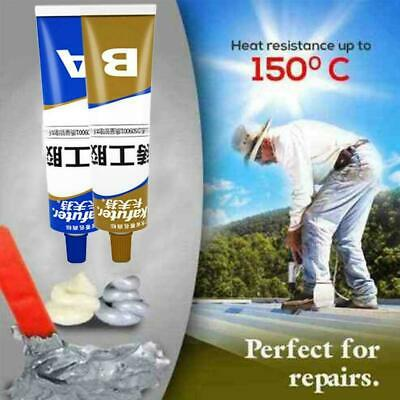 2Pc/set Industrial Heat Resistance Cold Weld Metal Paste Repair C4Q7