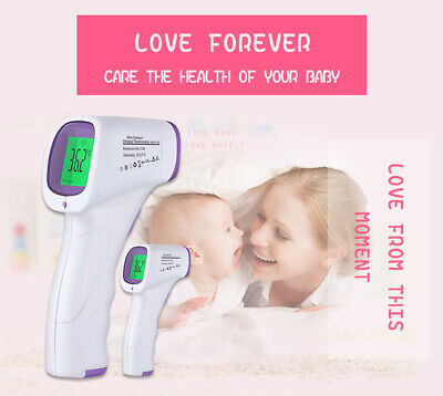 IR Infrared Digital Thermometer Non-Contact Forehead Baby/Adult Body Thermometer