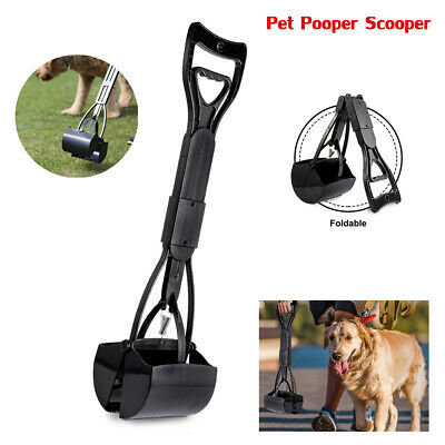 Dog Cat Pet Pooper Scooper for Clean Removal Pick Up Waste with Long Handle