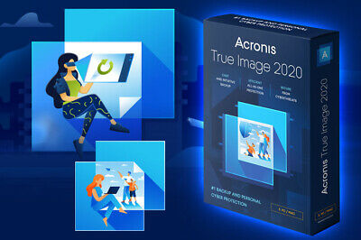ACRONIS TRUE IMAGE Backup 2020 + Boot 🔥Fully 100% Activated Lifetime Licence🔥