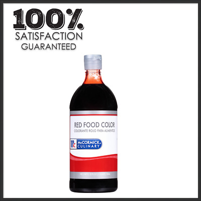 MCCORMICK RED FOOD Color, 1 oz. New, FREE SHIPPING - $6.29 ...