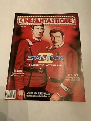 1992 Cinefantastique Magazine Vol 22 No 5 Star Trek VI