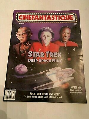 1993 Cinefantastique Magazine Vol 23 No 6 Star Trek Deep Space Nine